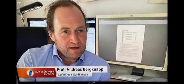 Andreas Bergknapp goes digital!