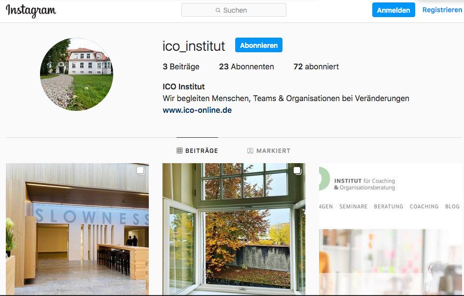 ICO goes Instagram